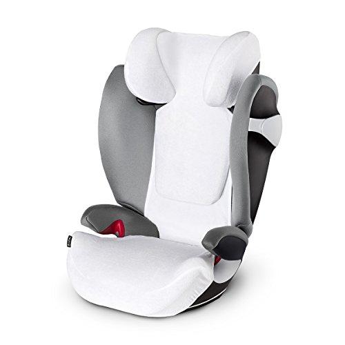 CYBEX Sommerbezug, Für Kinder-Autositz Pallas M & Solution M, Weiß