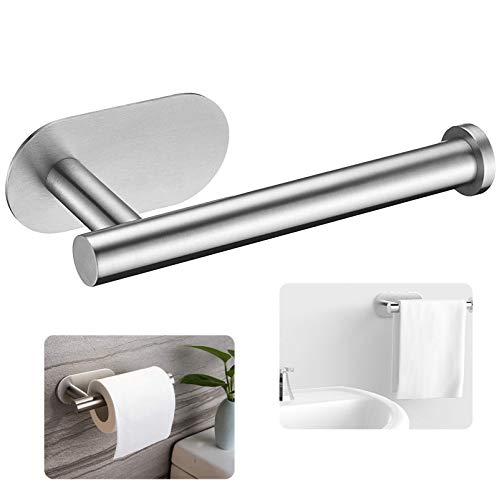 Toilettenpapierhalter Ohne Bohren,Selbstklebend...