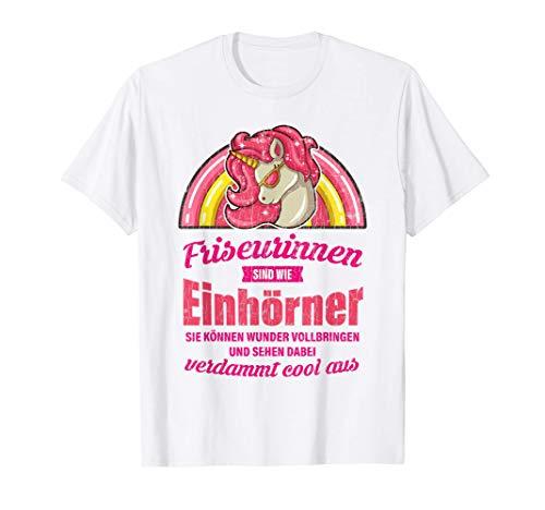 Lustiges Friseurin Geschenk Sprüche Frisöse Frisörin T-Shirt