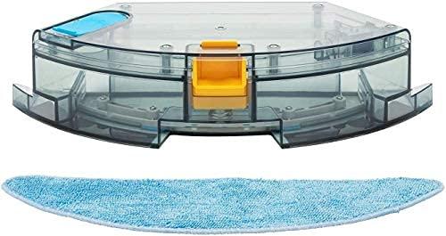 Deenkee DK700Saugroboter Wassertank für Wischfunktion, Staubsauger Roboter...