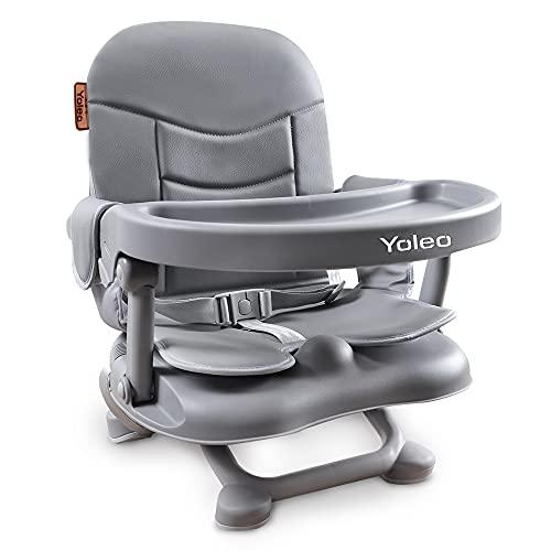 YOLEO Hochstuhl Baby Kinder Boostersitz Sitzerhöhung zum Füttern Verstellbarer...