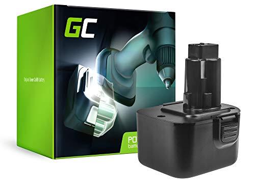 GC® (3Ah 12V Ni-MH Zellen) Akku für Black & Decker GT5C390 Werkzeug Ersatzakku