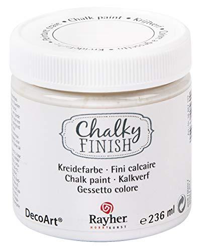 Rayher 38868102 Chalky Finish auf Wasser-Basis Kreide Farbe für Shabby-Chic,...