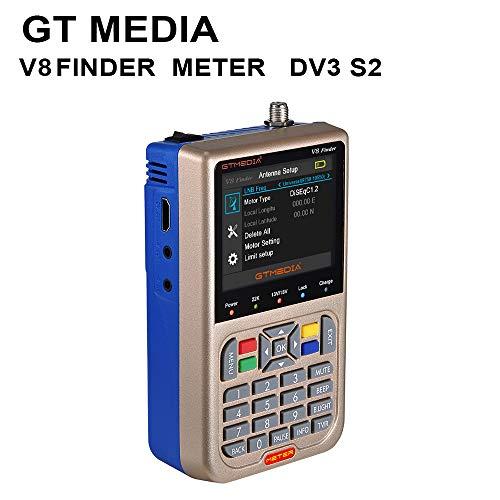 Docooler GTMEDIA V8 Meter Messgerät TV-Signal Finder-Messgerät DVB-S / S2 /...