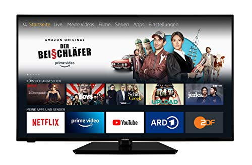 homeX UA50FT5505 Fire TV - 50-Zoll-Fernseher (4K UHD, HDR,...