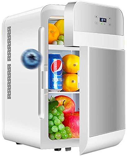ZLMI Mini Kühlschrank Minibar für Schlafzimmer 22L Mini bar tragbaren klein...