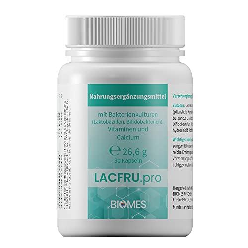 LACFRU.pro Nahrungsergänzungsmittel mit Bakterienkulturen (Laktobazillen,...
