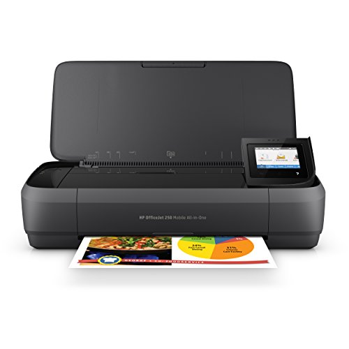 HP Officejet 250 mobiler Multifunktionsdrucker (Drucker Scanner, Kopierer, WLAN,...