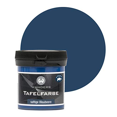 Wanders24 Tafelfarbe (80ml, saftige Blaubeere) Blackboard Paint - Tafellack -...