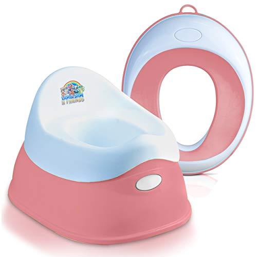 Lama Sam & Friends - Set Toilettentraining-Sitz für Kinder - Klobrille und...