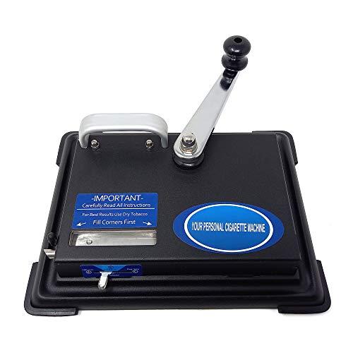 Tabakstopfgerät Manual Injector Zigaretten-Stopfmaschine Tabak Stopfer Metall...