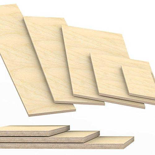 15mm Multiplex Zuschnitt Länge bis 200cm Multiplexplatten Zuschnitte Auswahl:...
