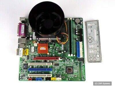 Mainboard CPU Ram Bundle: MSI MS-7010 + AMD Athlon 64 3400+ + 512MB DDR Ram
