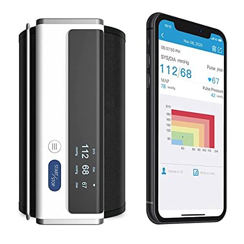 Armfit Bluetooth Blutdruckmessgerät Oberarm, Blutdruck Maschinen für den...