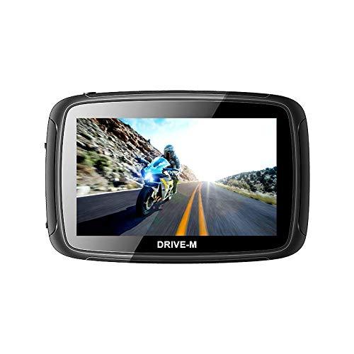 5 Zoll GPS Navigationsgerät Navi Drive-M Für Motorrad und PKW. wasserdichte....