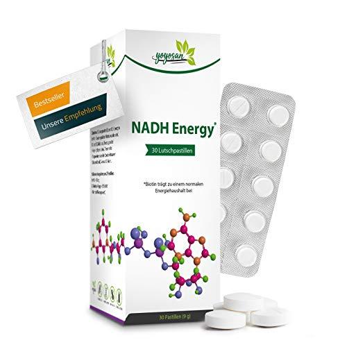 NADH Energy von yoyosan | sublingual | 40 mg je Tagesdosis hochdosiert | Das...