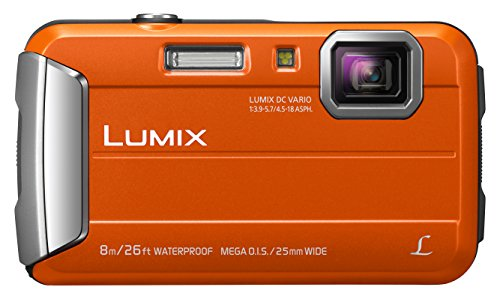Panasonic LUMIX DMC-FT30EG-D Outdoor Kamera (16,1 Megapixel, 4x opt. Zoom, 2,6...