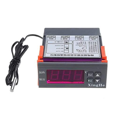 GuoQiang Zhou DC12 / DC24 / AC220 Automatischer Heizkörper-Thermostat, 2 Gruppe...