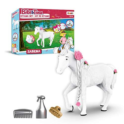 CRAZE BIBI & Tina Styling Sabrina Spielset Spielfiguren stylen 25918, Pferde...