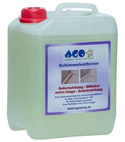 AGO® Anti Schimmel Imprägnierung I Schwarzschimmel Entferner I 1 x 5 L...
