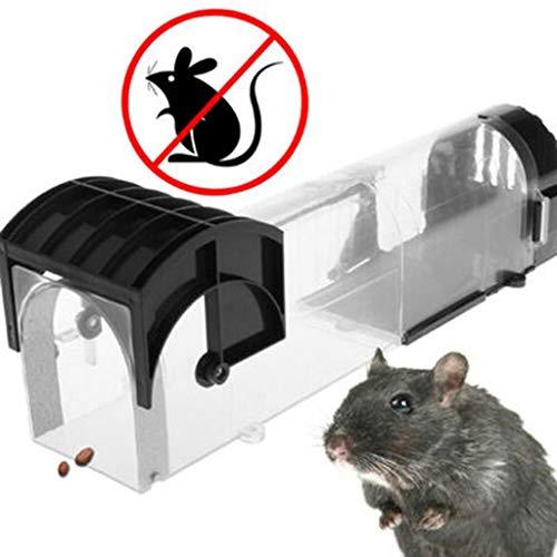 JIAAN Mausefalle Rattenfalle Mäuse Köderstation Mäusefallen Lebendfallen...