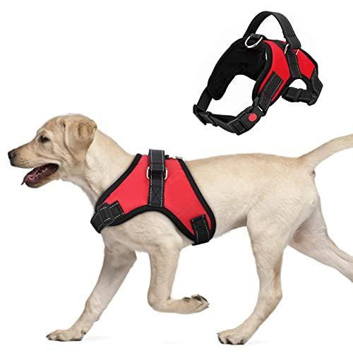 FYY Hundegeschirr für Große Hunde, Verstellbares Hunde Geschirr No Pull,...