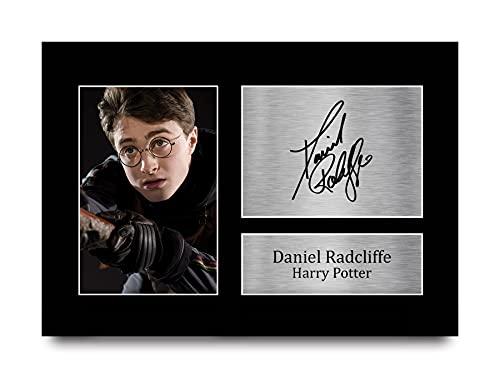 HWC Trading Daniel Radcliffe A4 Ungerahmt Signiert Gedruckt Autogramme Bild...