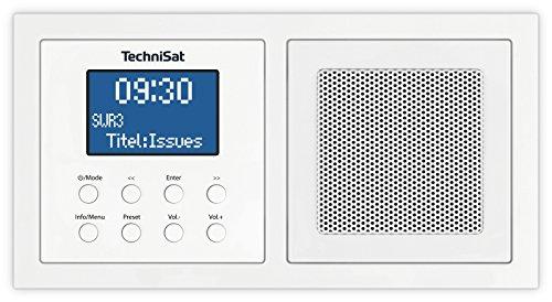 TechniSat DIGITRADIO UP 1 - DAB+ Unterputzradio zur Anbringung in jeder Doppel...