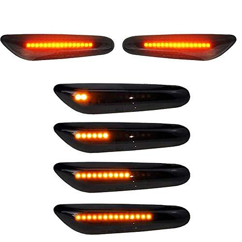 Boomersun LED Seitenblinker 2er Pack 16 LED Dynamische Blinkleuchte Blinker...