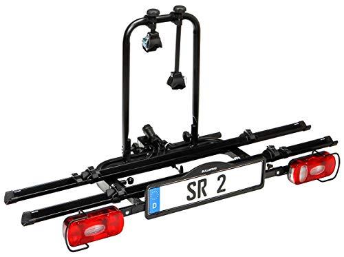 Bullwing SR2 - Fahrradträger für 2 Fahrräder auf die Auto Anhängerkupplung...