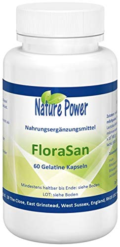 FloraSan (Probiotikum) - von Nature Power - 60 Kapseln