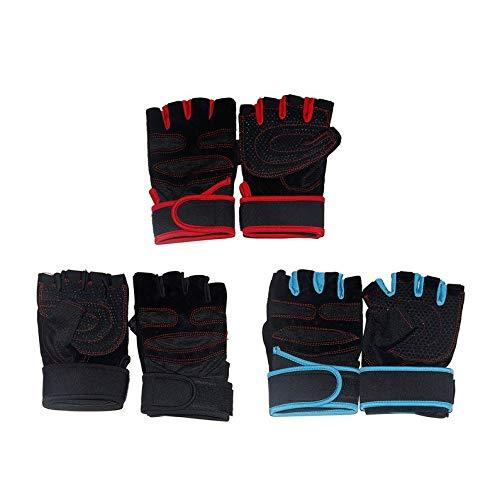 ukYukiko Anti-Rutsch-Fitness-Handschuhe, zum Gewichtheben,...