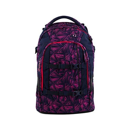 satch Pack Pink Bermuda, ergonomischer Schulrucksack, 30 Liter,...