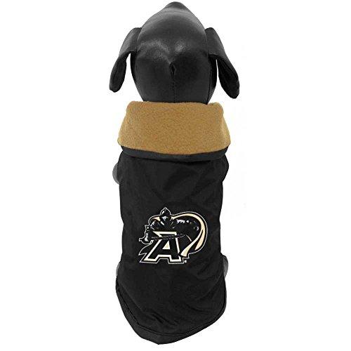 NCAA Army Black Knights Allwetterfeste Schutzbekleidung für Hunde, schwarz,...