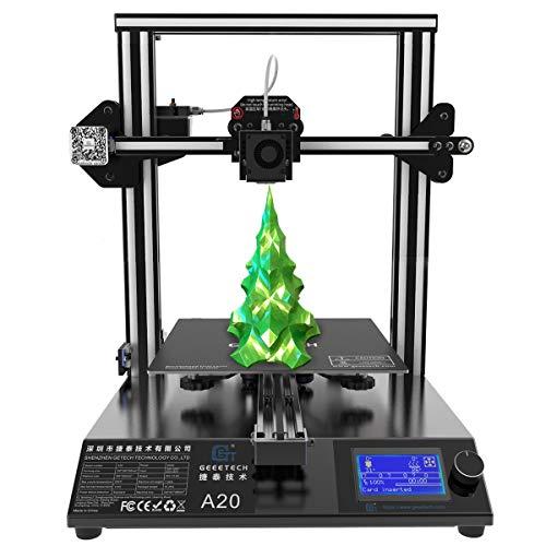 GIANTARM Neuer Geeetech A20 3D. Drucker mit Großem Druckraum: 255 * 255 * 255mm...