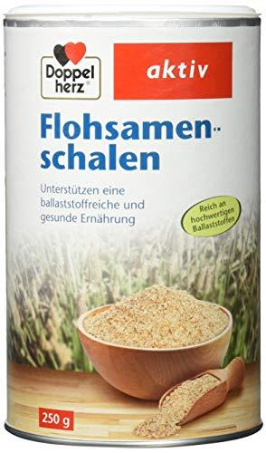 Doppelherz Flohsamenschalen – Ballaststoffreiche Nahrungsergänzung zur...