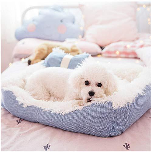 New Kennel PP Cotton Hund Nest Abnehmbares Hundebett Weiches Haustierbett...