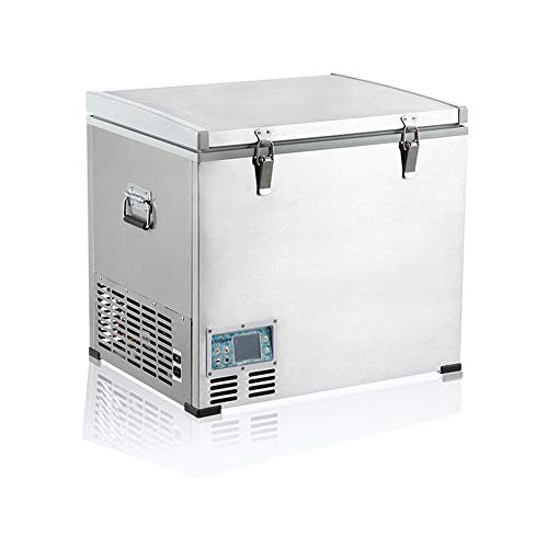 LALABIT Auto Mini Kühlschrank Tragbarer Kühlschrank 60-Liter-Fahrzeug, Auto,...