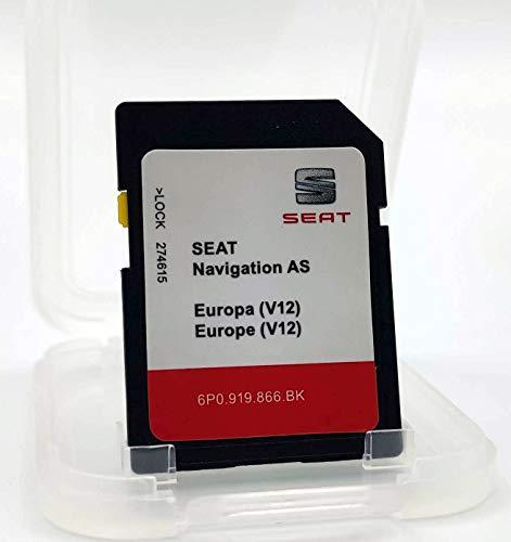 Karte SD Update Seat Navigation AS Europa 1 Version 12 / Seat Navi System 6P0 /...