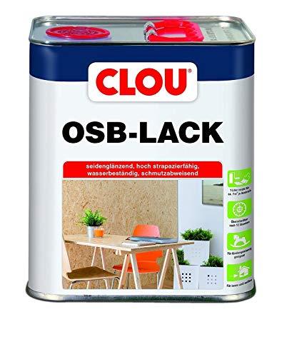 Clou OSB Lack: Seidenglänzender Holzlack zur Versiegelung von OSB-Platten,...