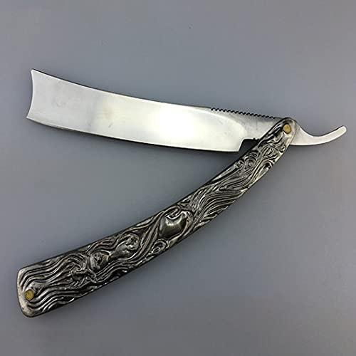 PIANAI Altmodischer manuelles Rasiermesser/klassischer Haarschnitt/nassrasierer...