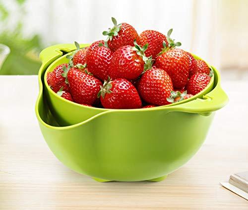 feimeifen Gemüsebecken Abflusskorb Küche Waschen Obst Geschirrspüler Haushalt...