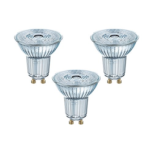 Osram LED Base PAR16 Reflektorlampe, mit GU10-Sockel, nicht dimmbar, Ersetzt 4,3...