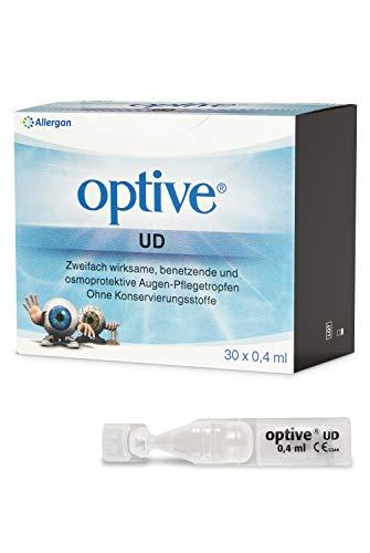 Allergan Optive® UD Augentropfen gegen trockene Augen ohne Konservierungsstoffe...