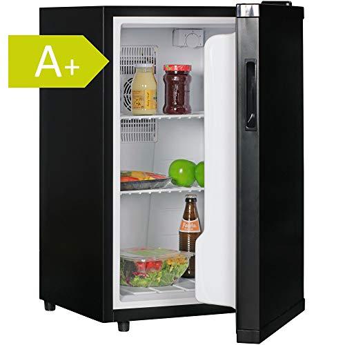 AMSTYLE Mini Kühlschrank 65 Liter Kleiner Kühlschrank Schwarz 46x74x52cm...