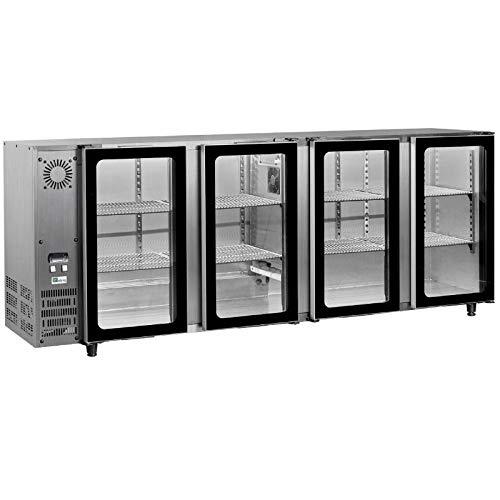 AFI Collin Lucy Kühlschrank, Edelstahl, 2 bis 4 Türen 760 litres