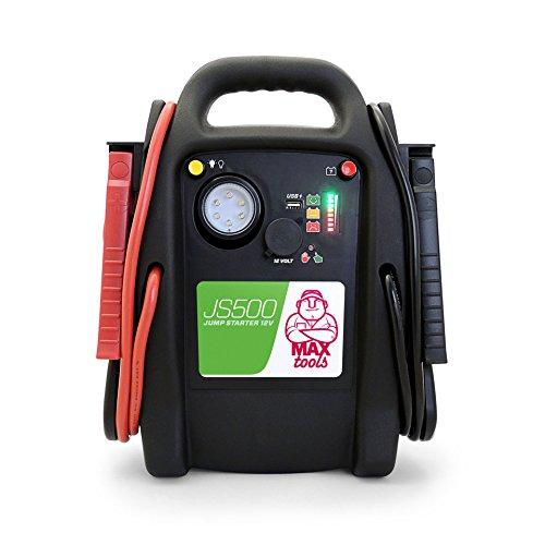 MAXTOOLS JS500 Batterienotstarter für Autos und Transporter, 2200A 22Ah, für...