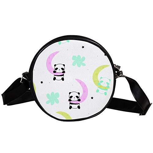 Bennigiry DEYYA Handtasche für Damen, süßer kleiner Panda, zum Schlafen auf...