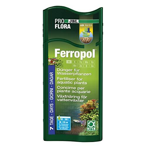 JBL Ferropol 23043 Pflanzendünger für Süßwasser Aquarien, 500 ml