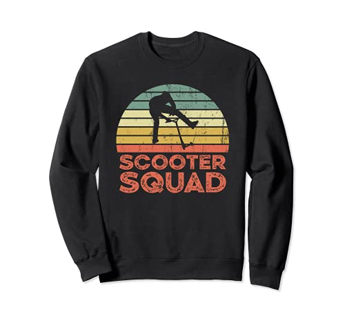 Scooter squad - E-Scooter Roller Fahrer Sweatshirt